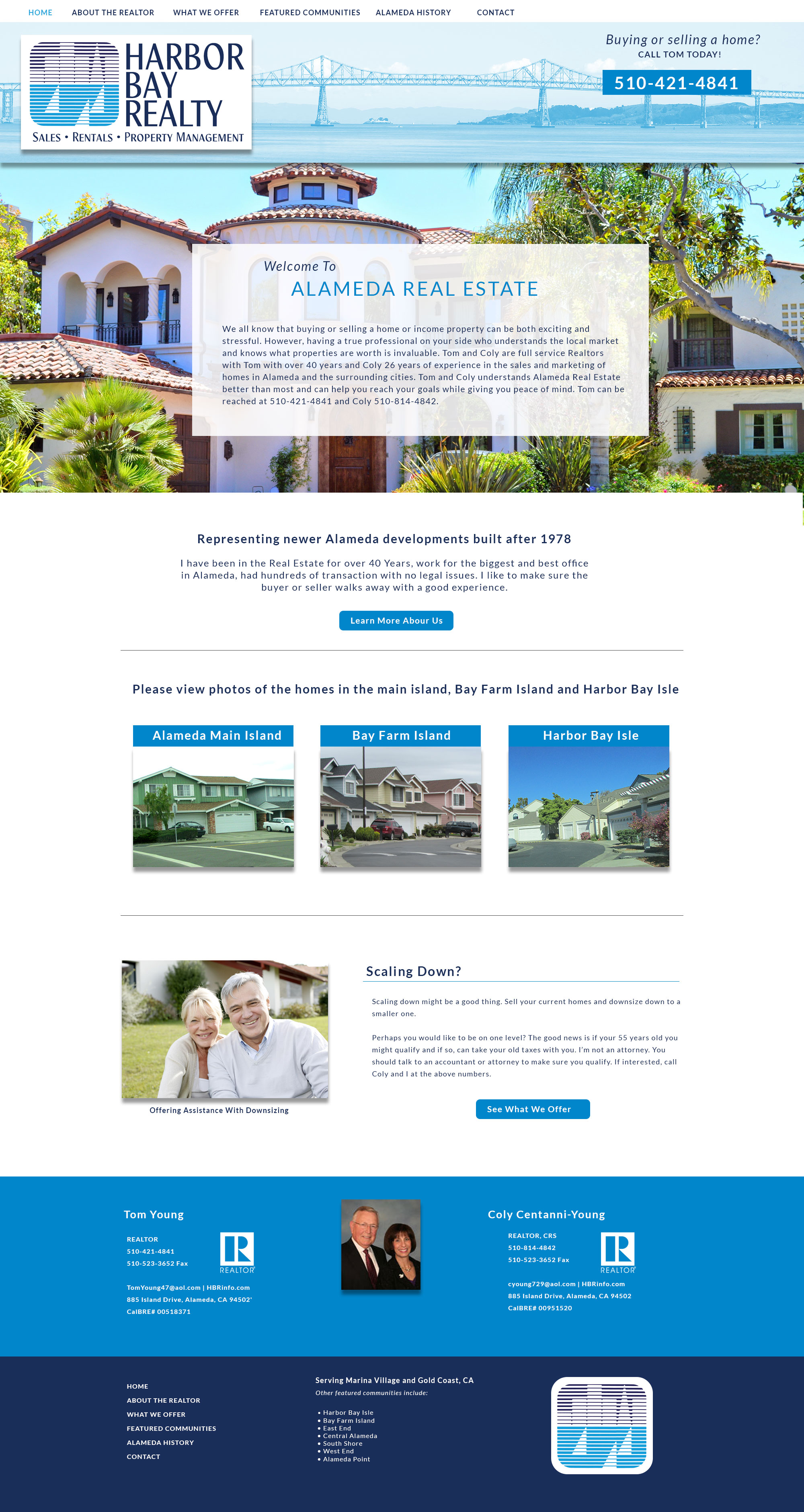 Custom Realtor Website