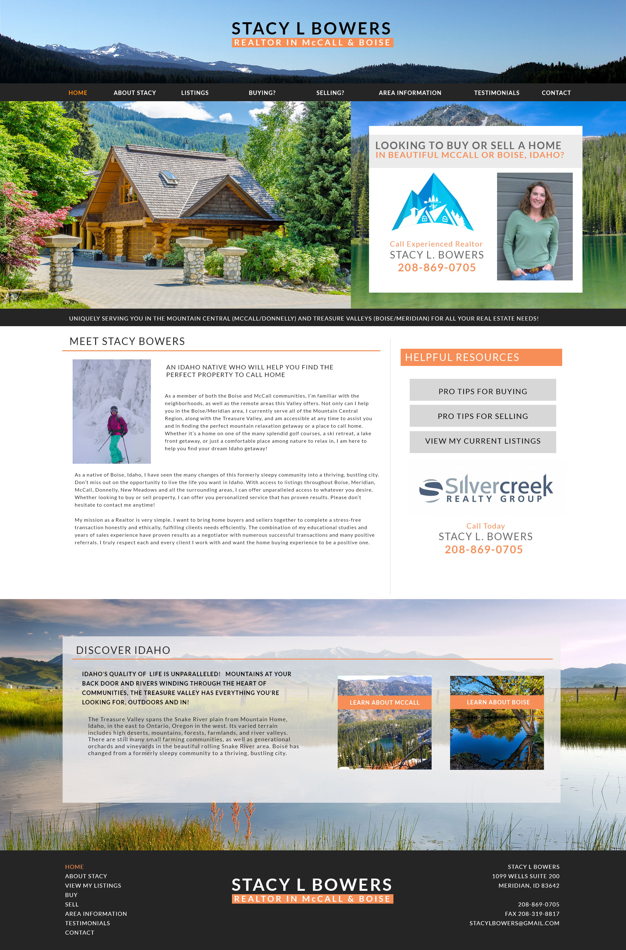 Outdoorsy Realtor Site