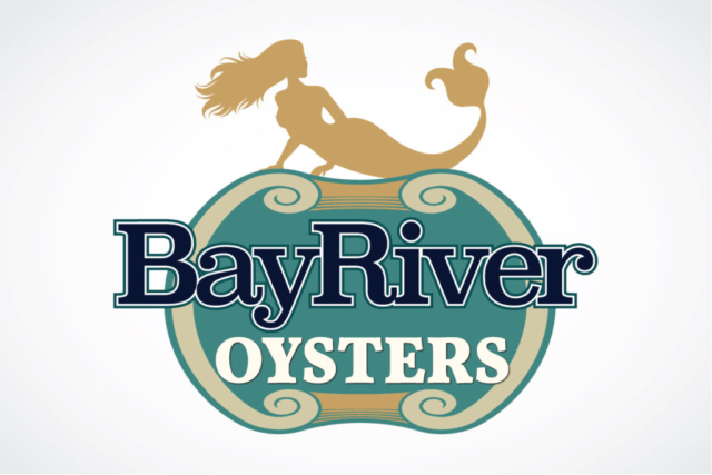 Logo Design for Bay River Oysters