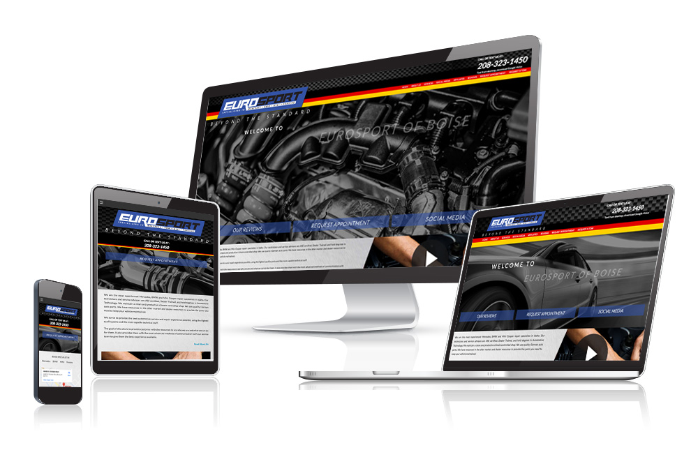 Auto Body Website