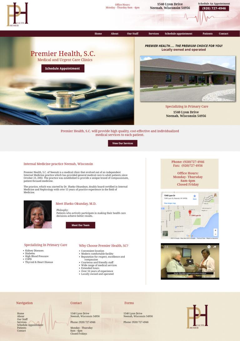 Premier Health Website