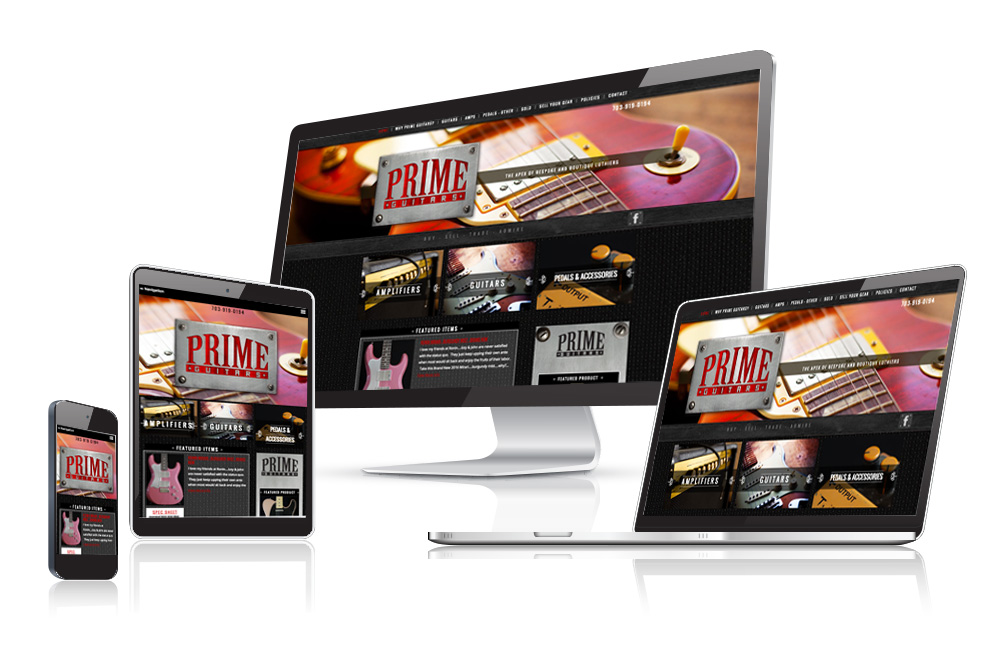 Guitar Sales Website