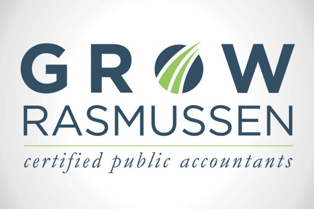 Grow Rasmussen Custom Logo Design