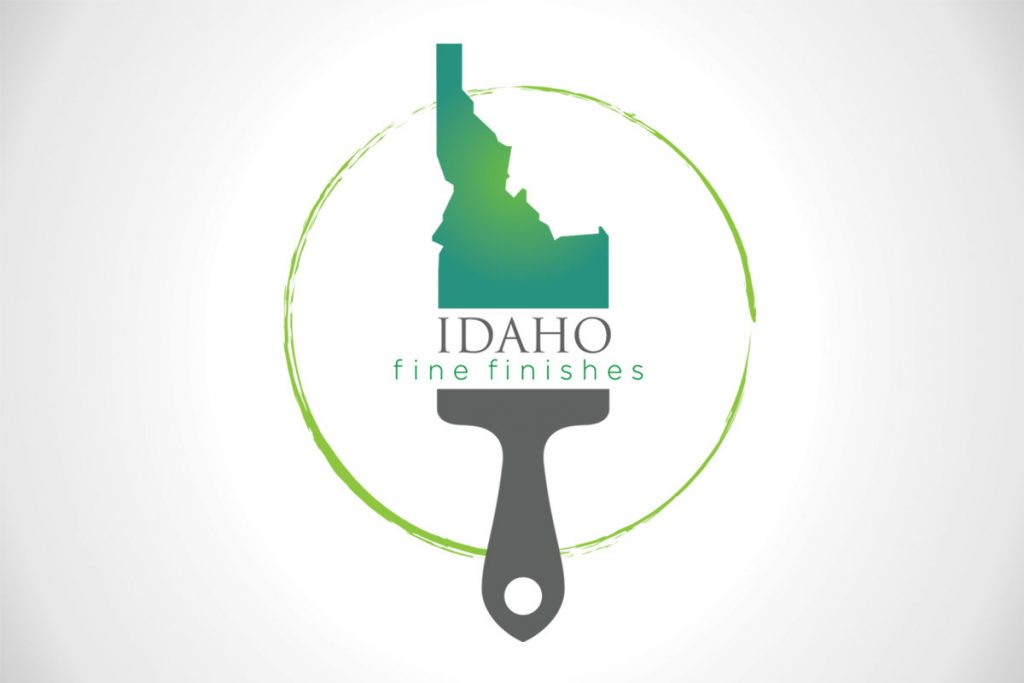 Idaho Fine Finishes Custom Logo Design