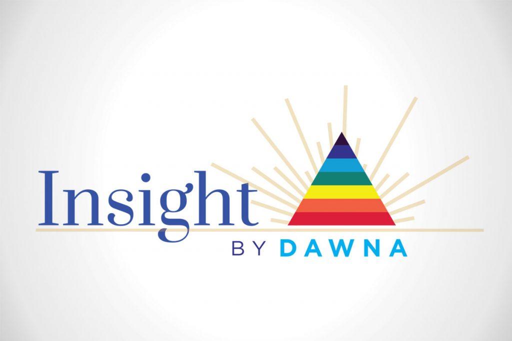 Insight By Dawna Custom Logo Design