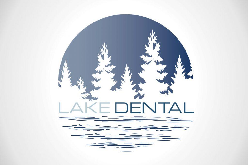 Lake Dental Custom Logo Design