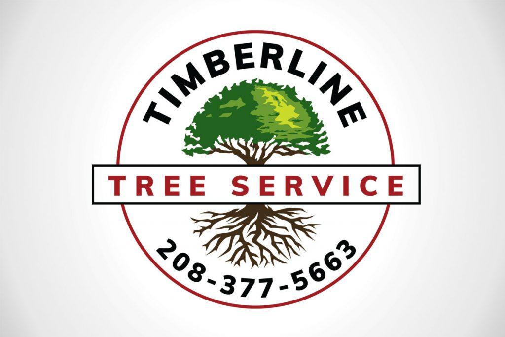 Timberline Tree Service Custom Logo Design