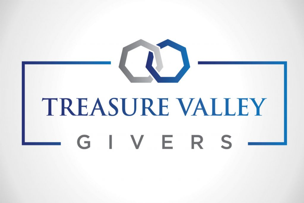Treasure Valley Givers Custom Logo Design
