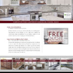 Cabinet Sales Custom Website