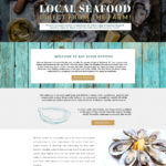 Bay River Oysters Custom Website