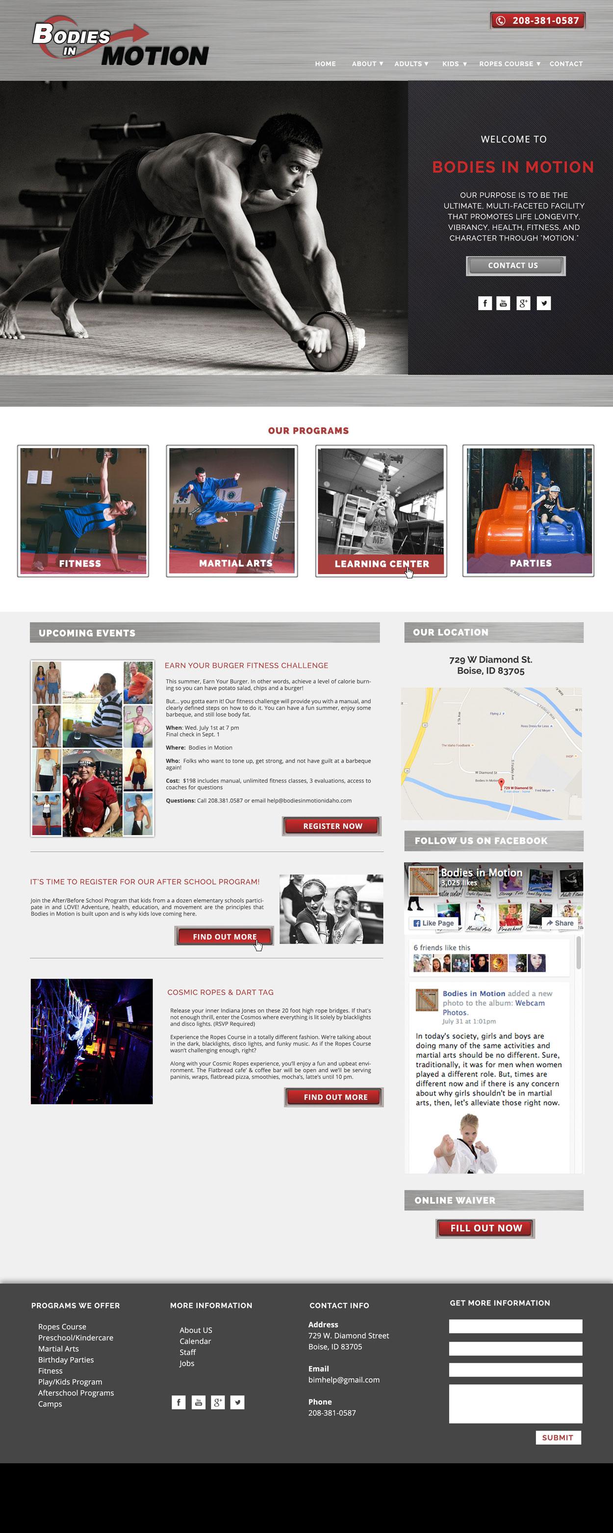 Athletic Club Website