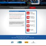 Custom Alarm Company Website Design