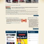 Trailers Custom Website