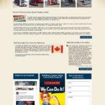 Trailers Custom Website
