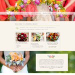 Wedding Florist Website Design