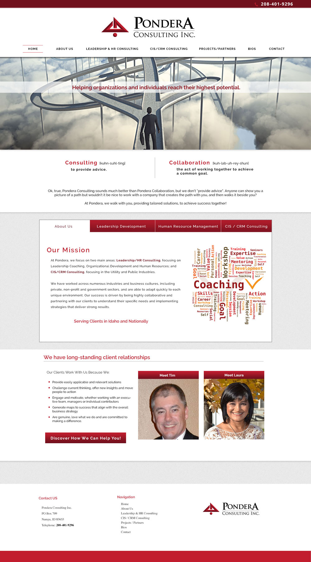 Professional Services Website Design
