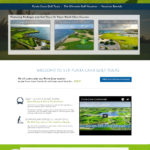 Golf Course Website Design