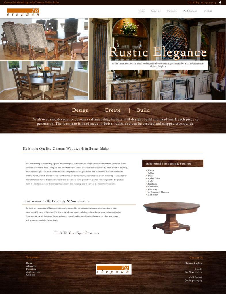 Woodworking Custom Website
