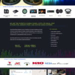Audio Website Design