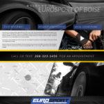 Custom Autobody Website Design