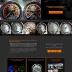 Motorcycle Custom Website