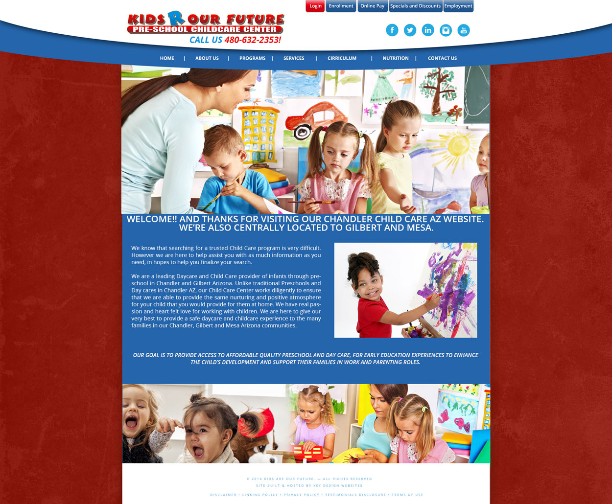 Daycare Website Design