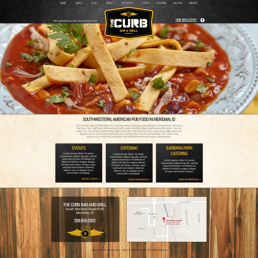 Food and Pub Website