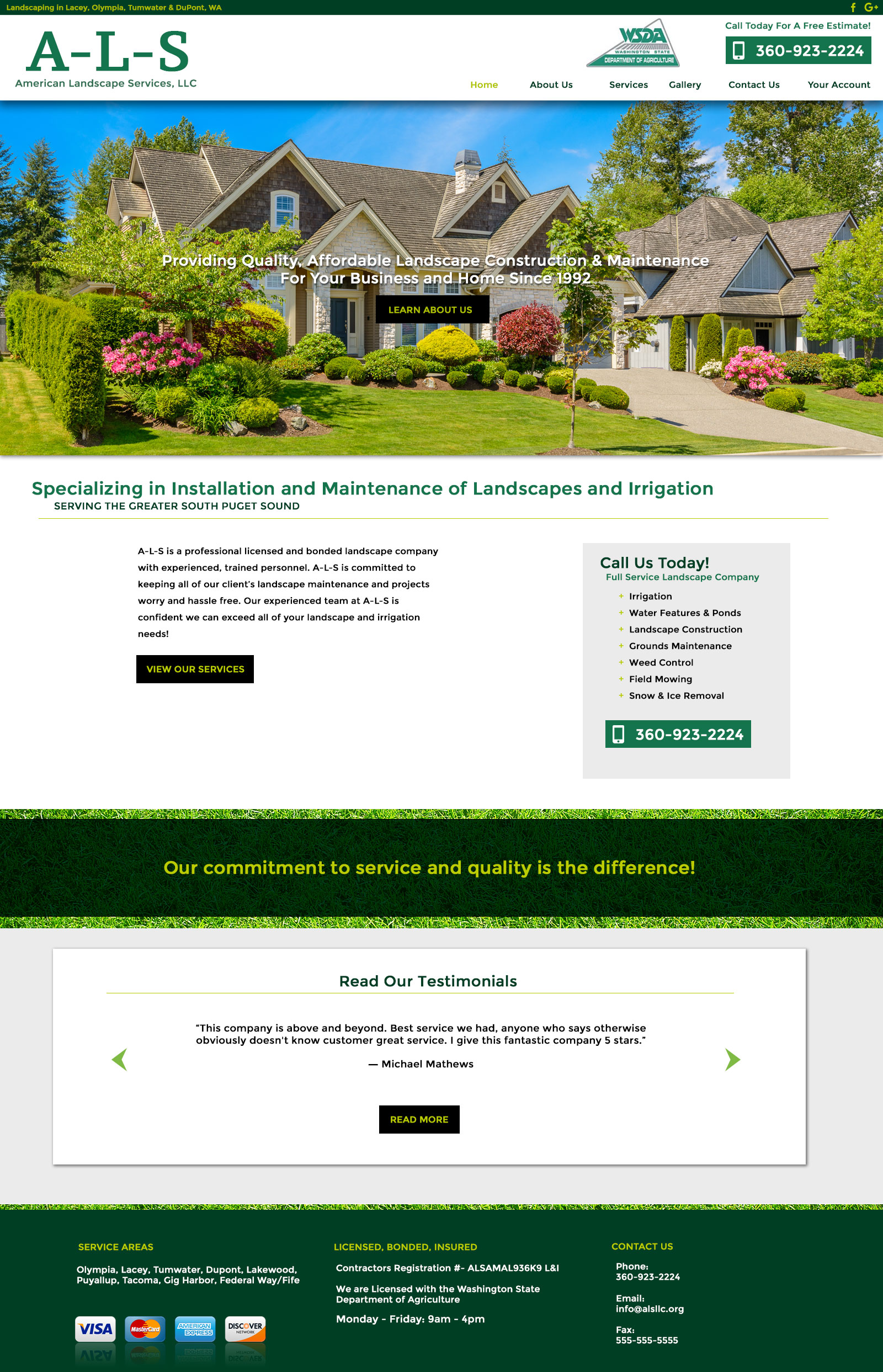 Landscaping company boise id tree pruning and trimming for American garden company