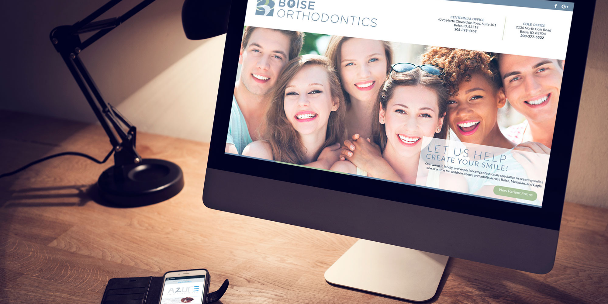 Boise Idaho Custom Website Design for a Orthodontics Company