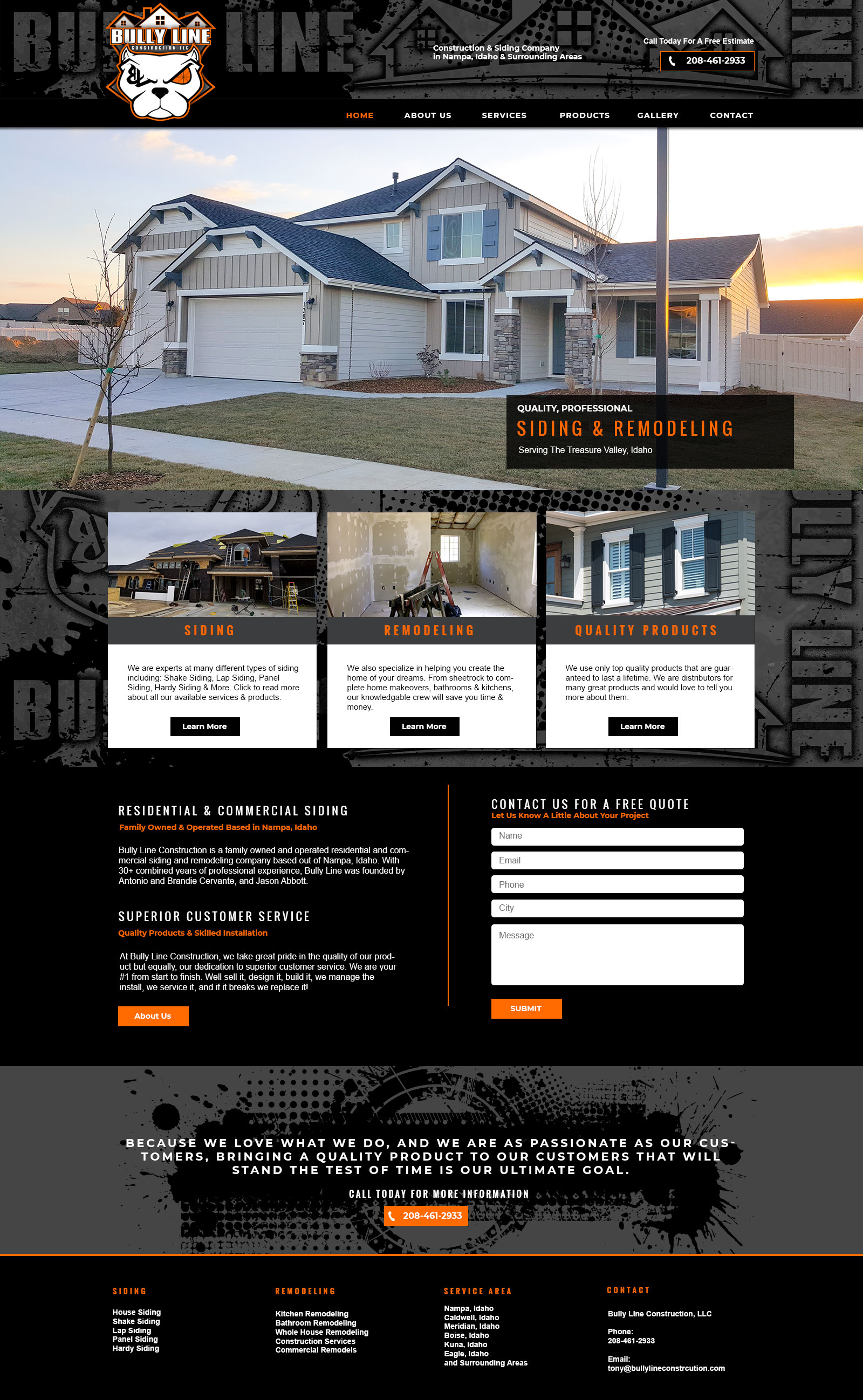 Siding And Remodeling In The Treasure Valley 208 461 2933